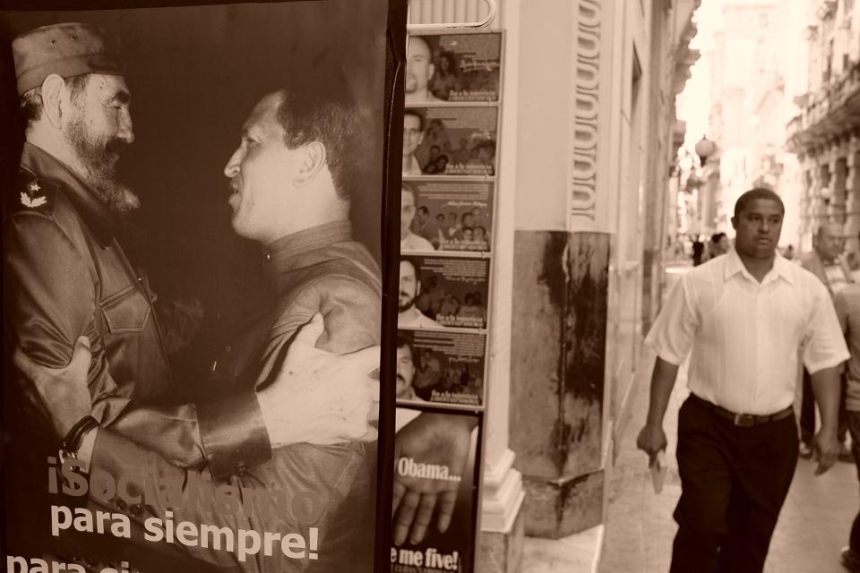 Yann-Deshoulieres-Cuba-La Havane-Fidel Castro-Chavez