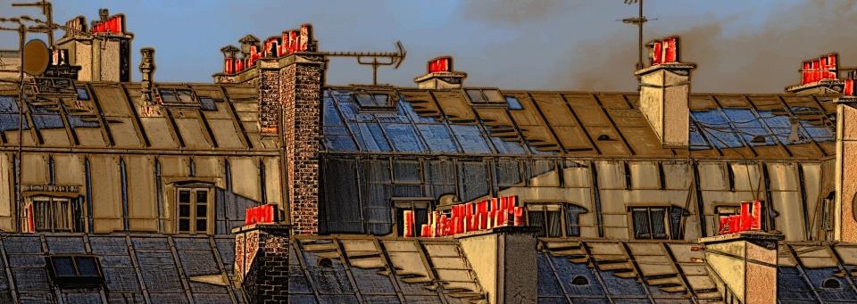 Yann Deshoulieres-les toits de Paris