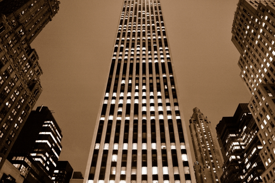 Yann-Deshoulieres-Manhattan by night-Art deco